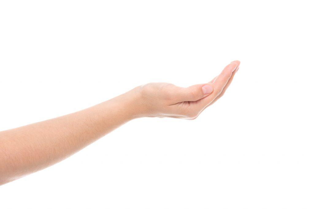 fot. Co zrobić z uporczywym odciskiem na palcach dłoni ?
